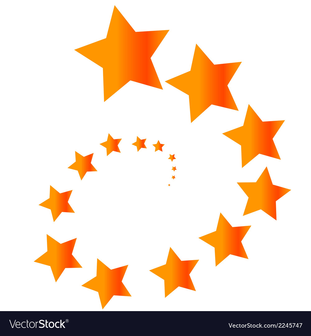 Concept of stars vector | Price: 1 Credit (USD $1)
