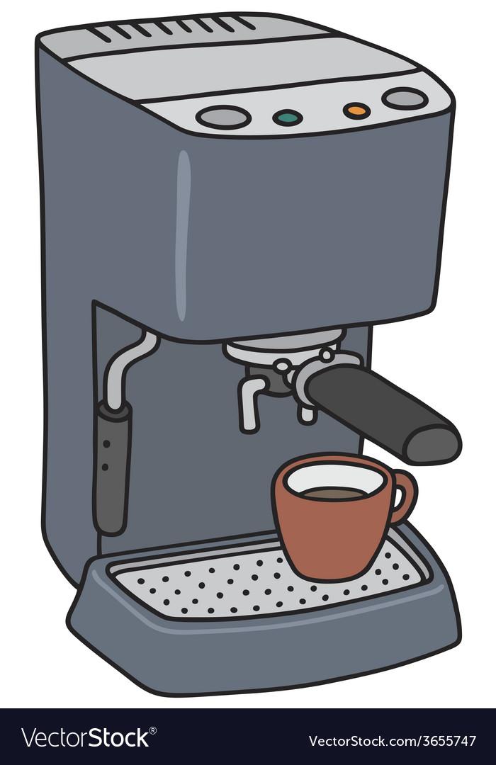 Electric espresso maker vector | Price: 1 Credit (USD $1)
