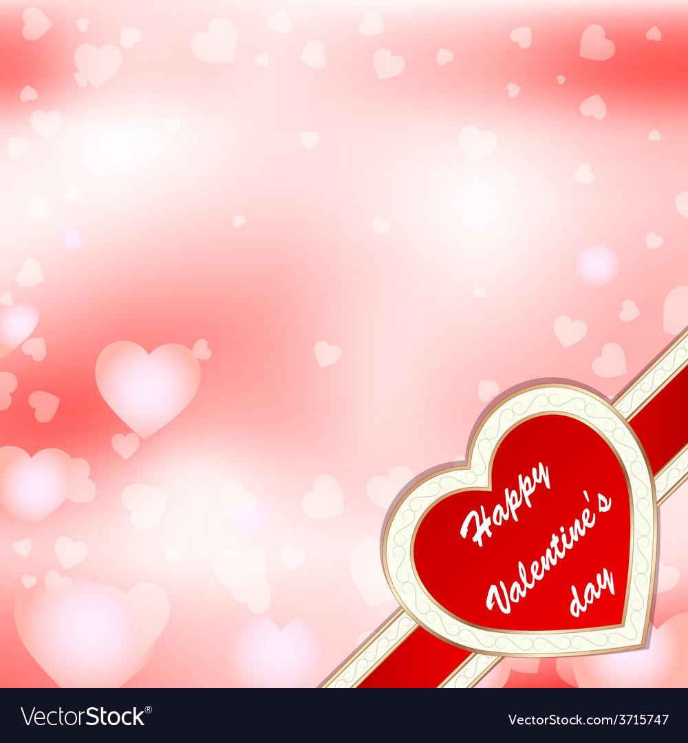 Greeting card valentine vector   Price: 1 Credit (USD $1)