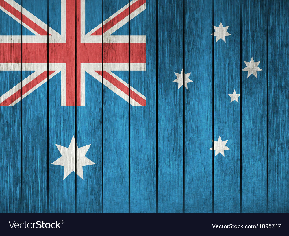 Grunge flag of australia vector | Price: 1 Credit (USD $1)