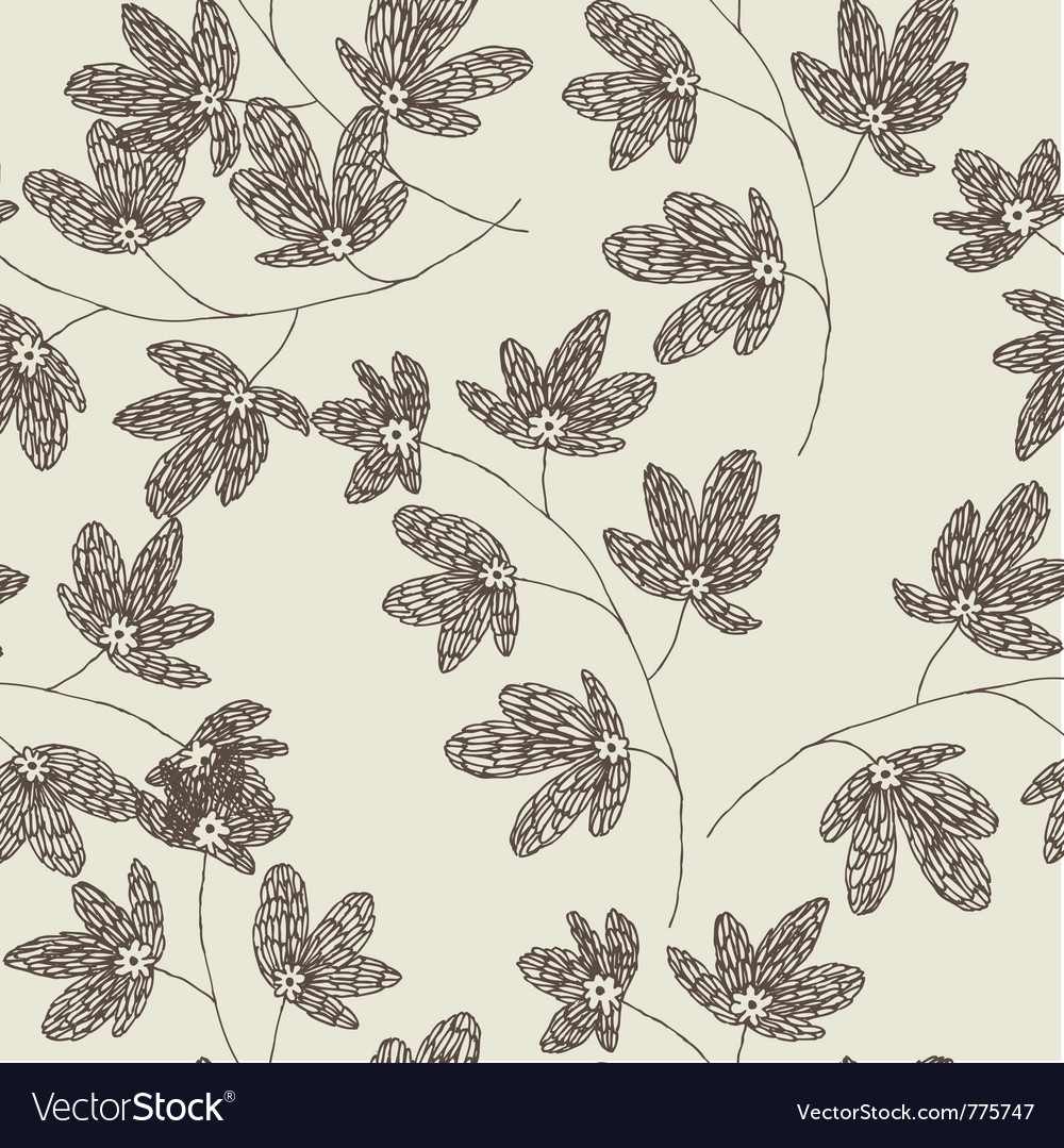 Leaf drawing wallpaper vector | Price: 1 Credit (USD $1)