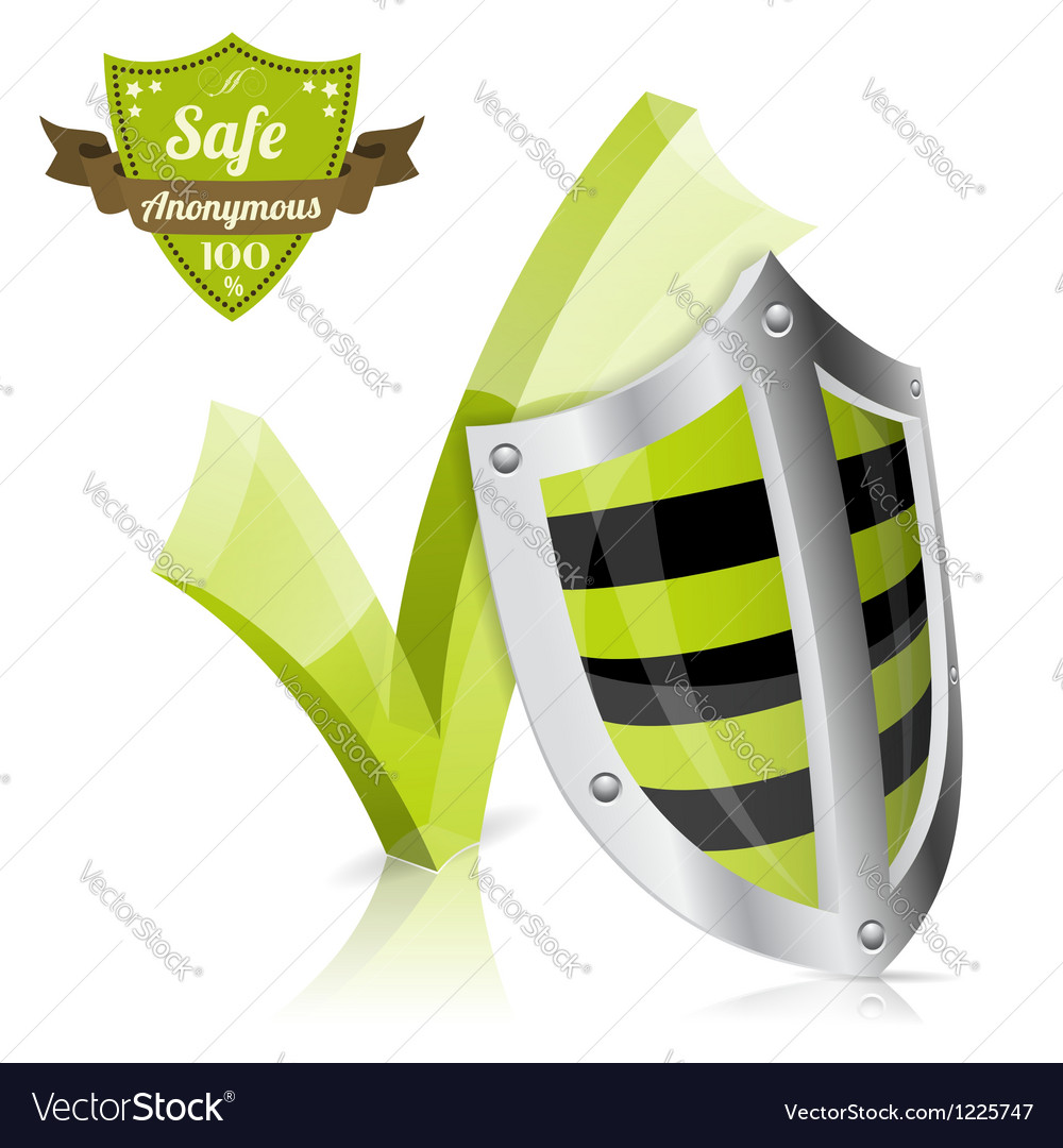 Safe and anonymous concept vector | Price: 1 Credit (USD $1)