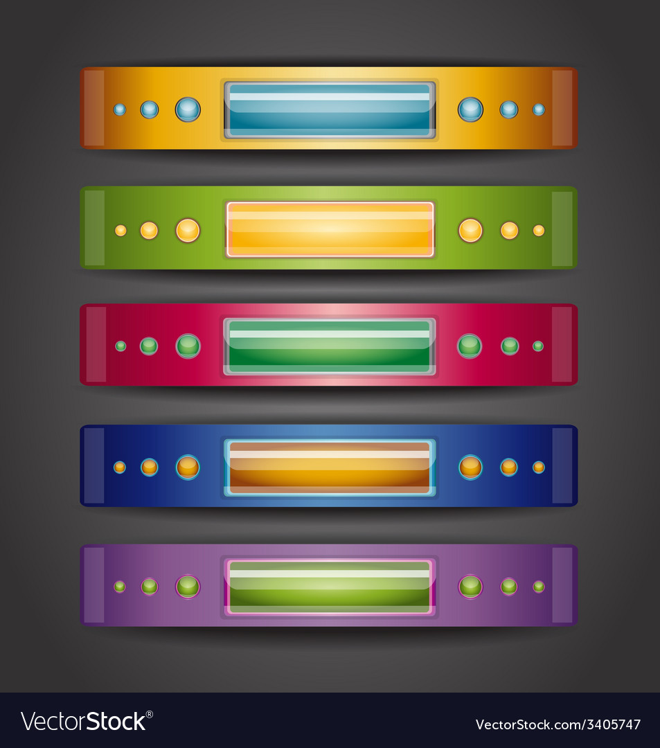 With banners vector | Price: 1 Credit (USD $1)