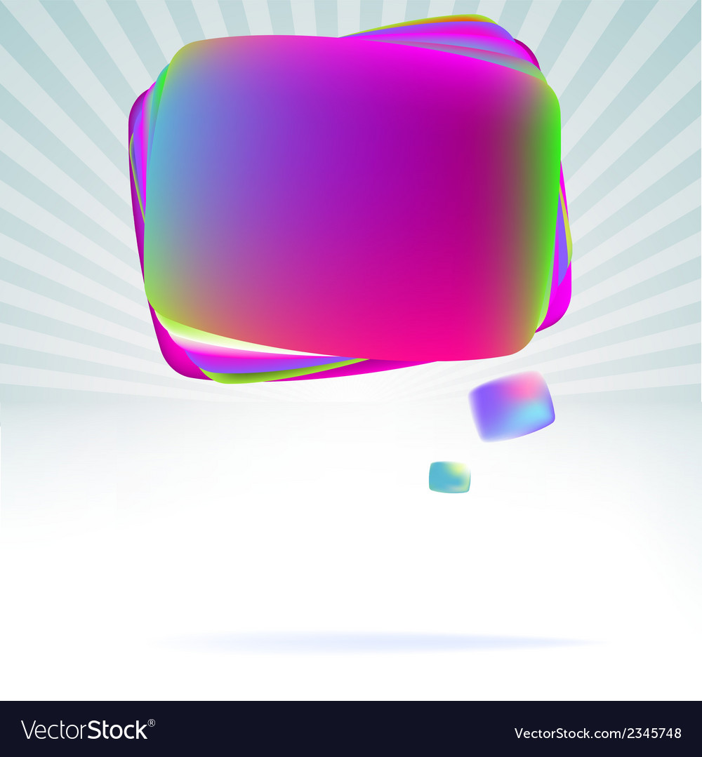 Abstract speech bubble background  eps8 vector   Price: 1 Credit (USD $1)