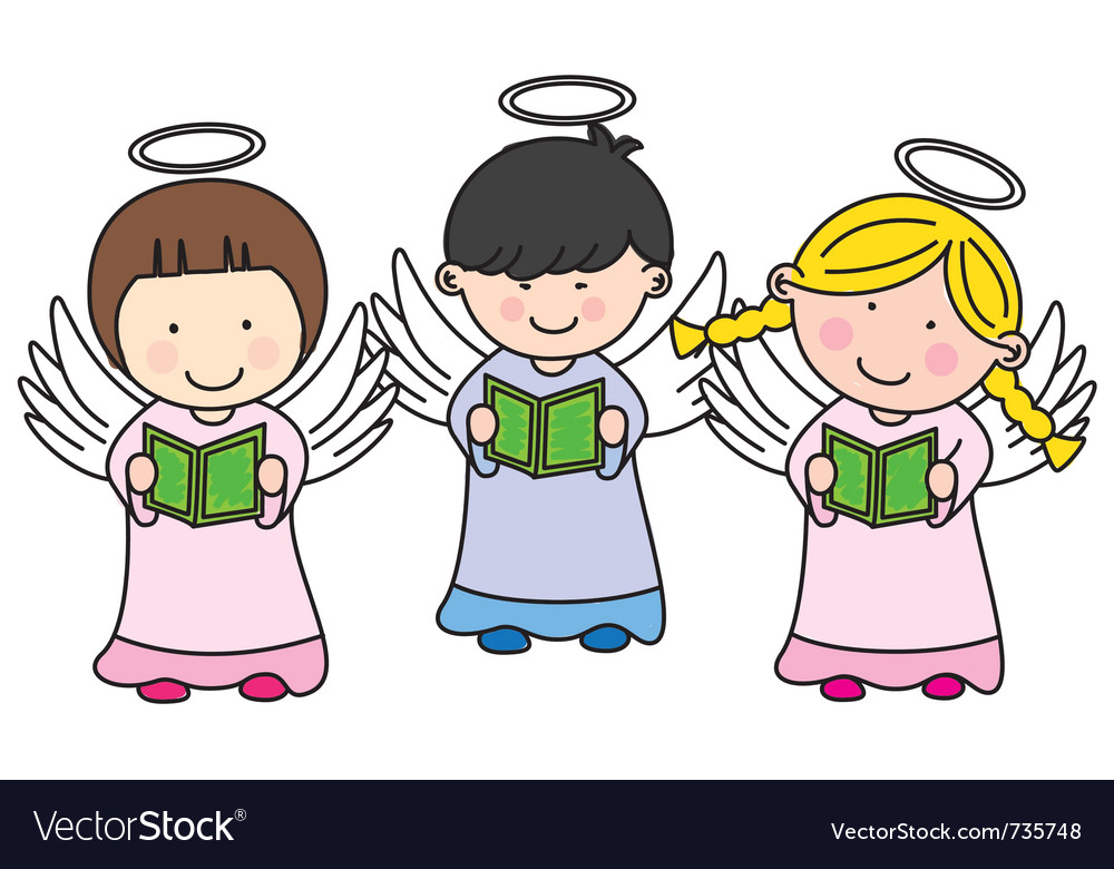 Children making communion vector | Price: 1 Credit (USD $1)