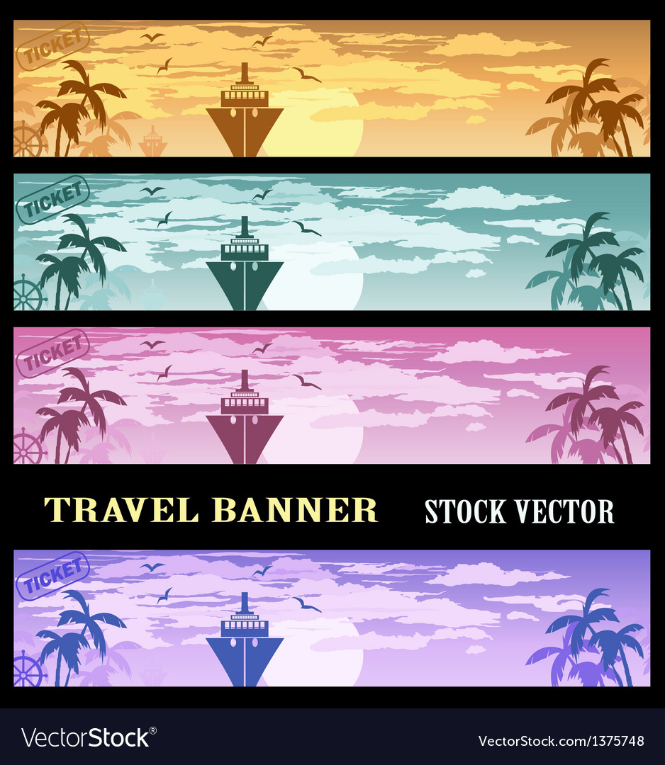 Colourful banners vector | Price: 1 Credit (USD $1)