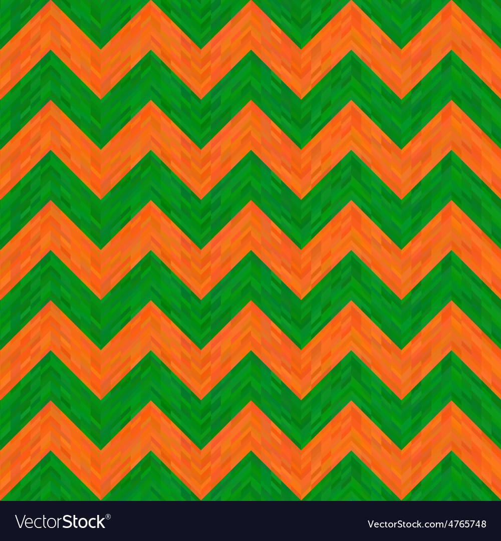 Green and orange hippie pattern vector | Price: 1 Credit (USD $1)