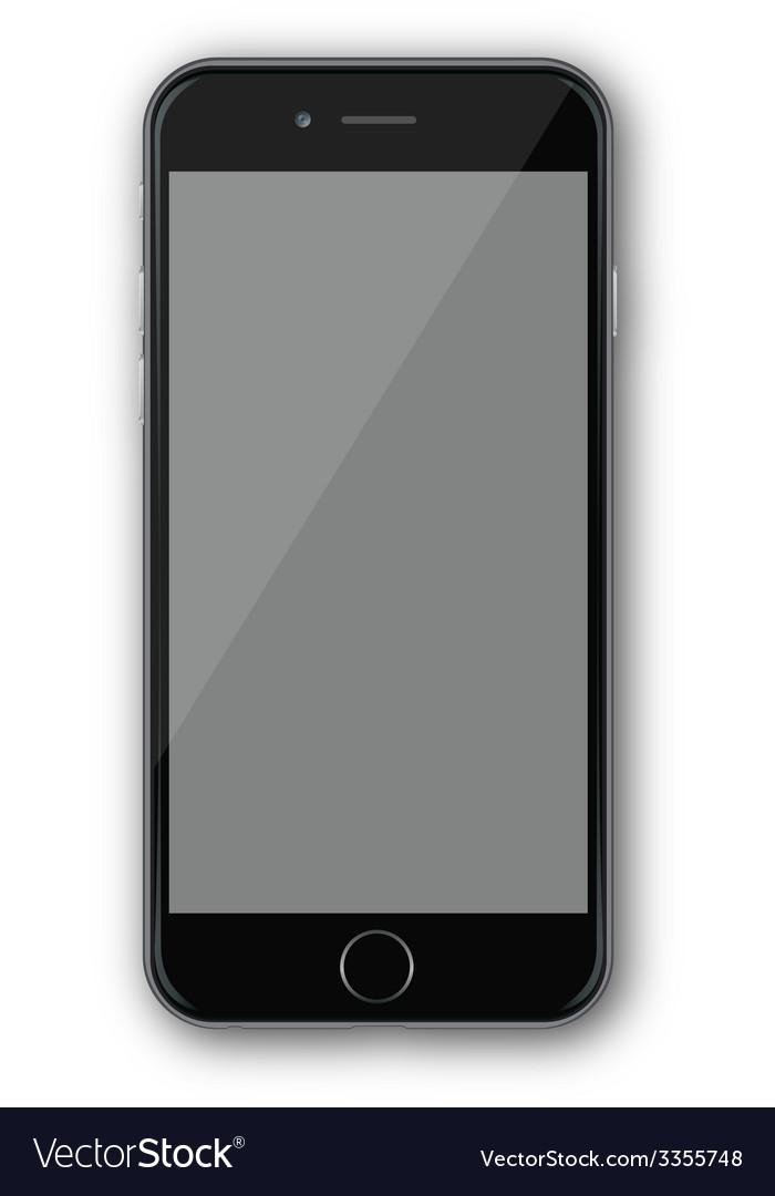 Iphone 4 black vector   Price: 1 Credit (USD $1)
