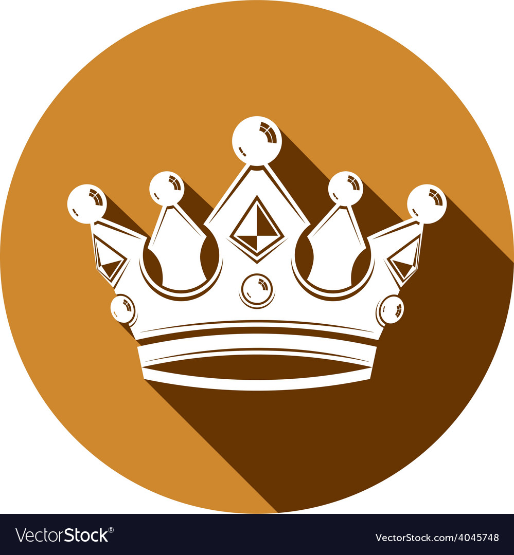 Royal design element regal icon stylish majestic vector | Price: 1 Credit (USD $1)