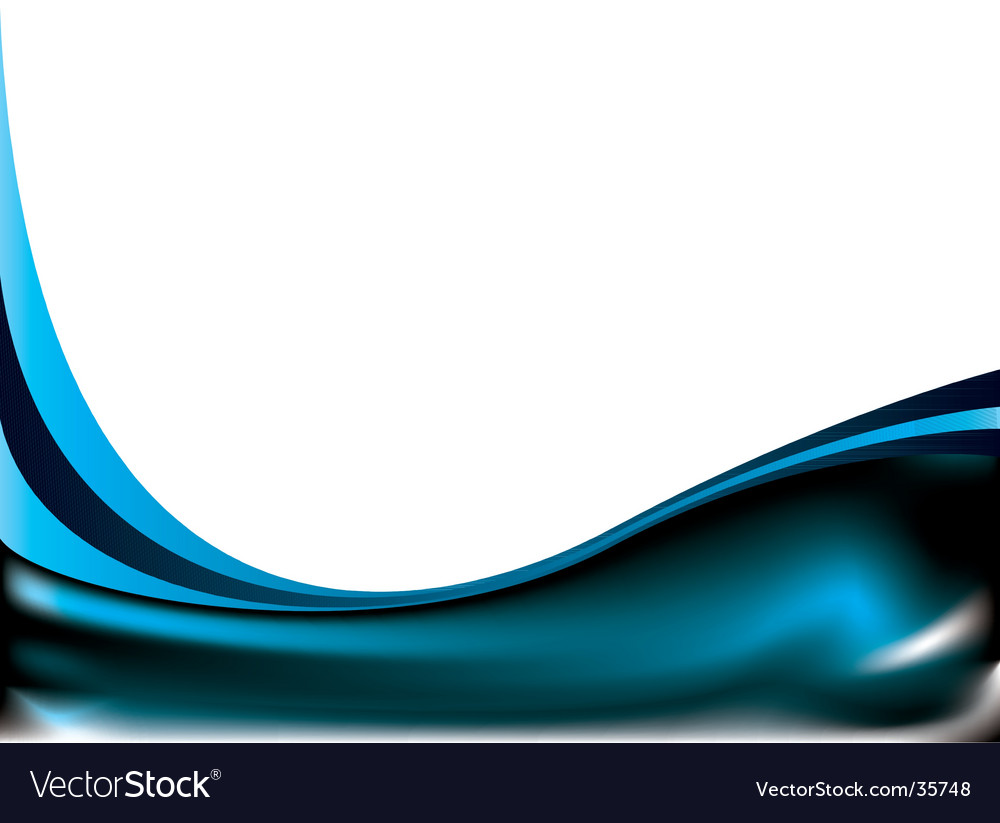 Subtle curve blue vector | Price: 1 Credit (USD $1)