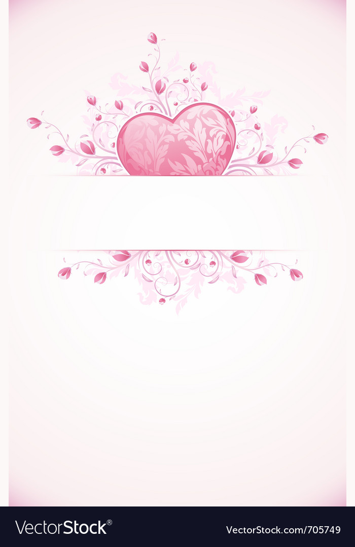 Abstract valentines day vector | Price: 1 Credit (USD $1)