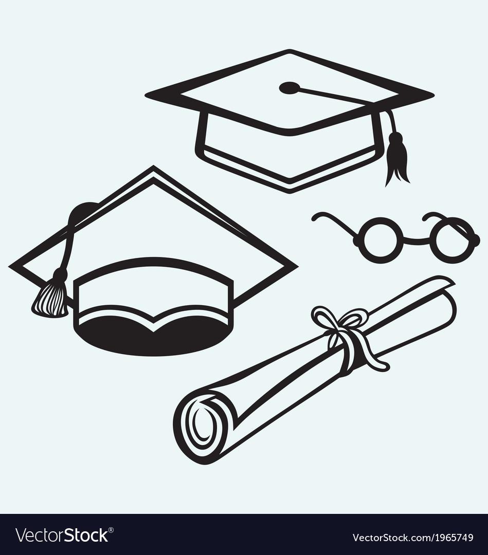 Student accessories vector | Price: 1 Credit (USD $1)