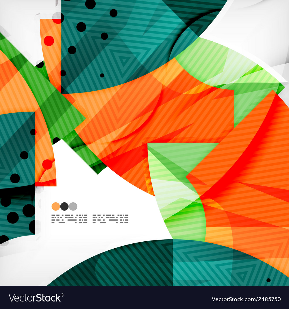 Abstract geometric shapes background vector   Price: 1 Credit (USD $1)
