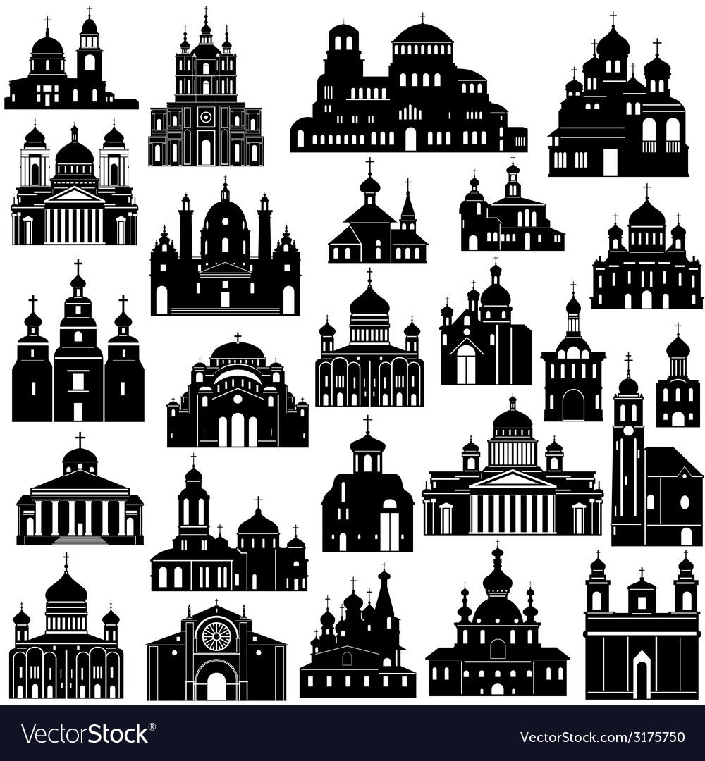 Architecture christianity vector | Price: 1 Credit (USD $1)