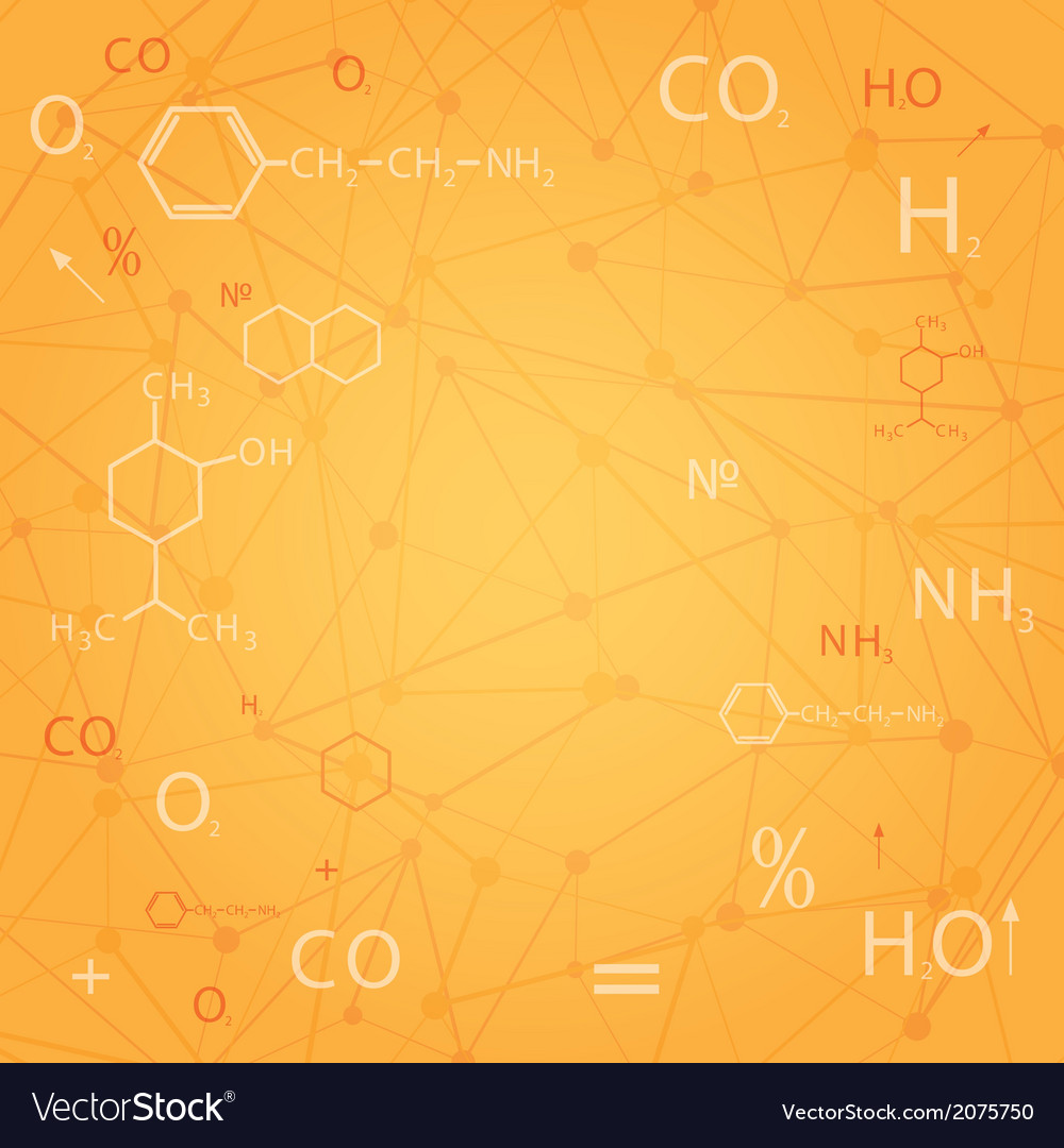 Chemical abstract background vector | Price: 1 Credit (USD $1)