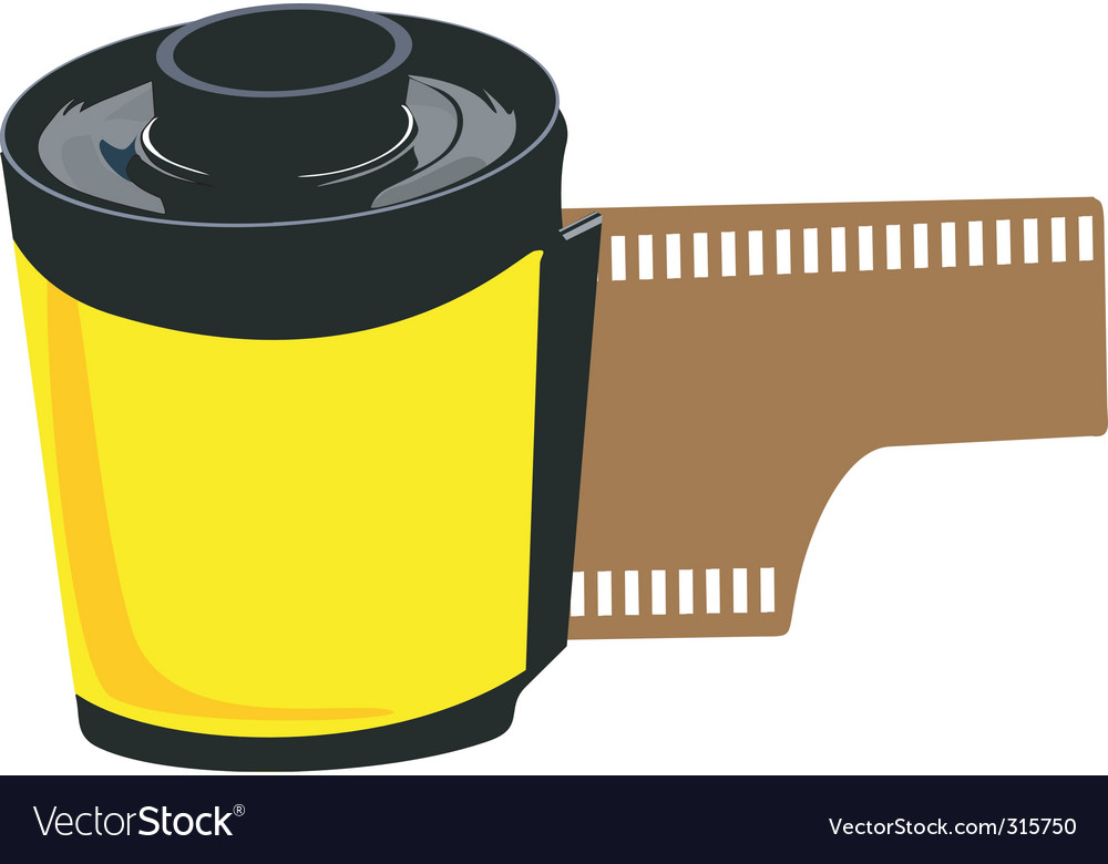 Film roll vector | Price: 1 Credit (USD $1)