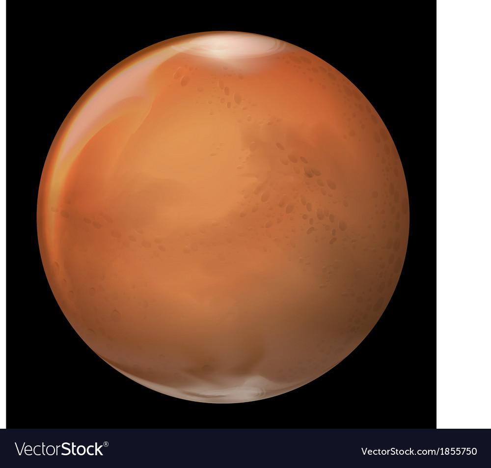 Mars vector | Price: 1 Credit (USD $1)