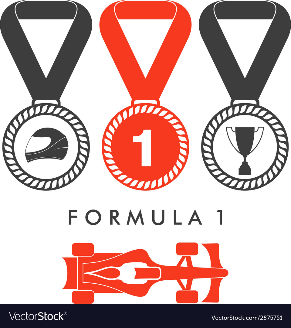 Formula one racing vector | Price: 1 Credit (USD $1)