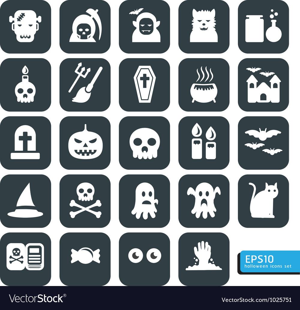 Halloween icon black vector | Price: 1 Credit (USD $1)