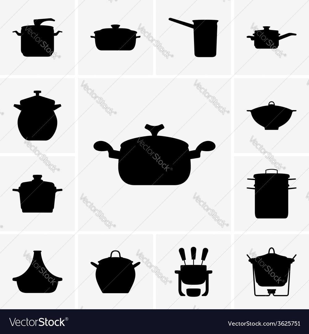 Pans vector