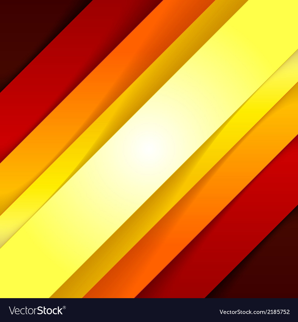Abstract red and orange triangle shapes background vector | Price: 1 Credit (USD $1)