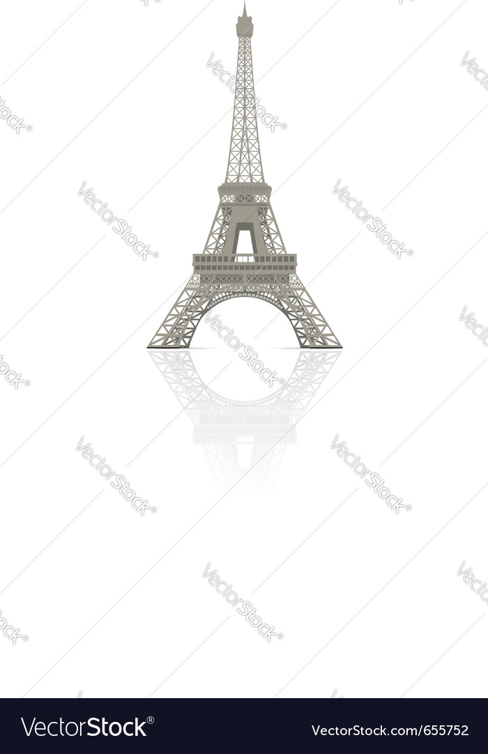 Eiffel towe vector | Price: 1 Credit (USD $1)