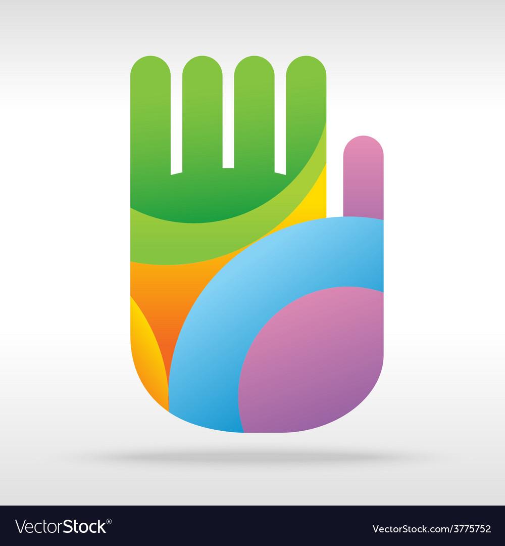 Hand art vector | Price: 1 Credit (USD $1)