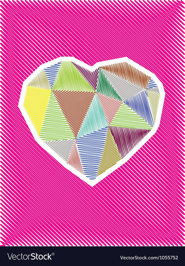 Love hearts vector | Price: 1 Credit (USD $1)