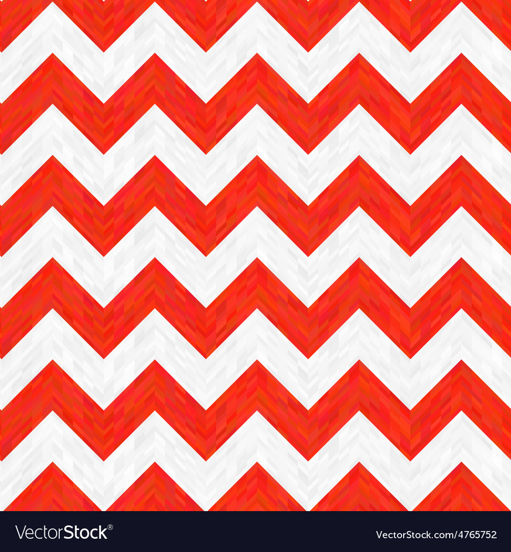 Red and white zigzag pattern vector | Price: 1 Credit (USD $1)