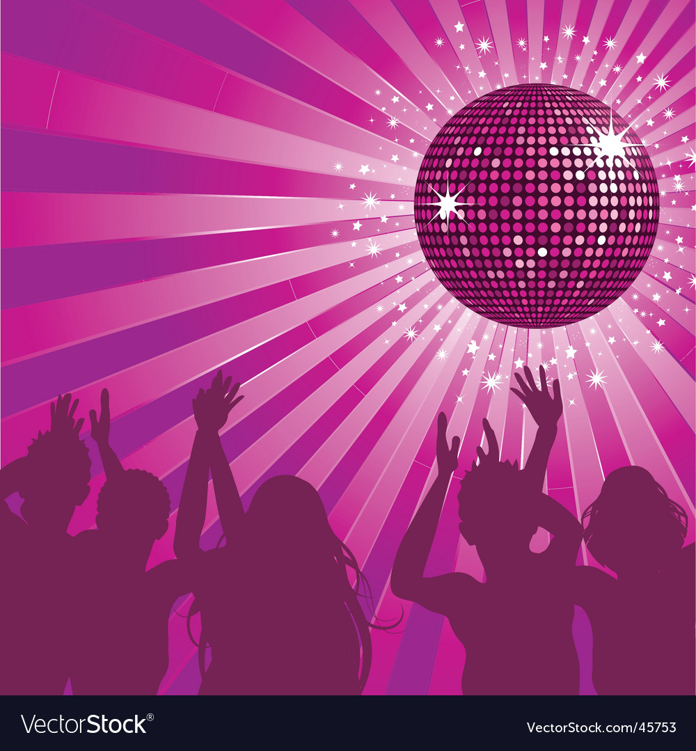 Disco ball party vector | Price: 1 Credit (USD $1)