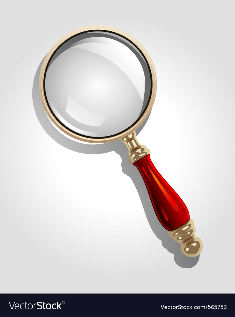 Magnifier icon vector | Price: 1 Credit (USD $1)