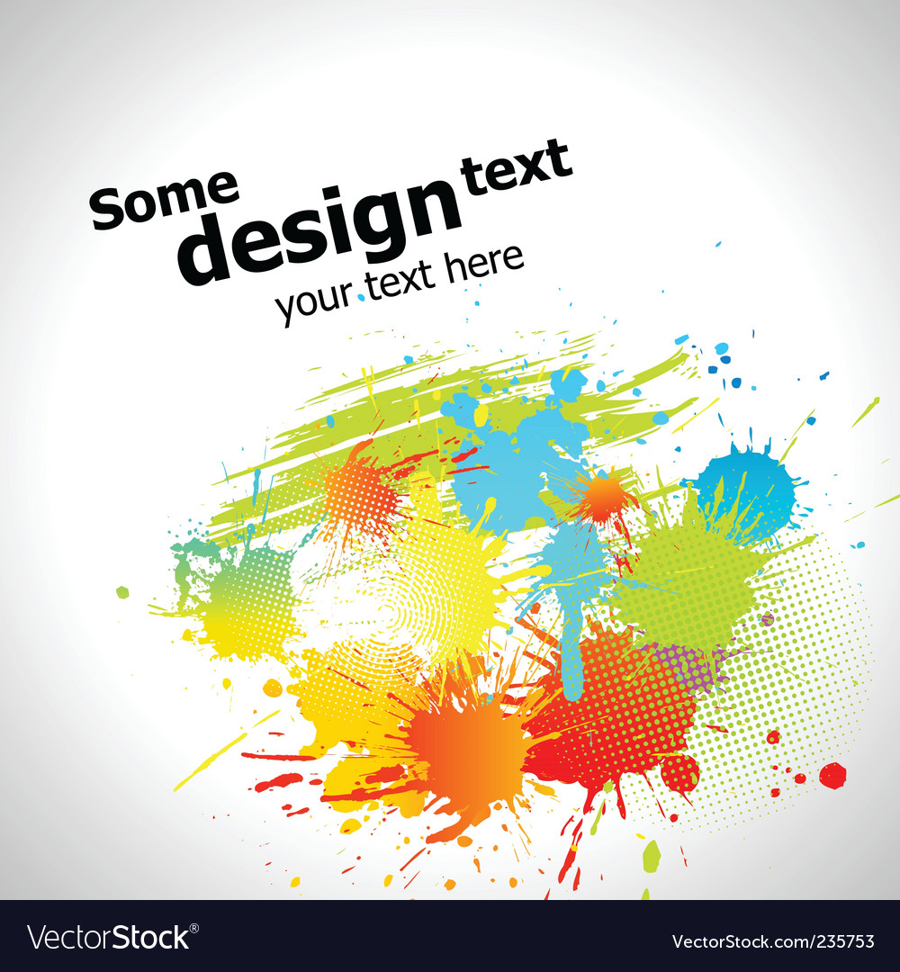 Paint splash vector | Price: 1 Credit (USD $1)