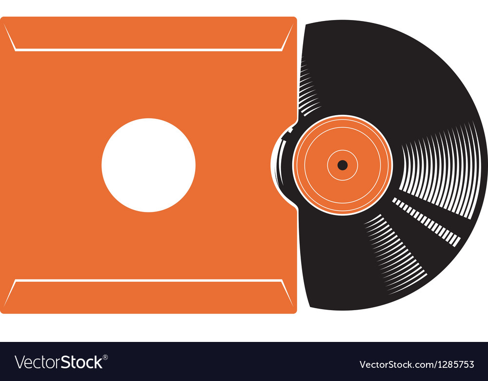 Vinyl disc vector | Price: 1 Credit (USD $1)