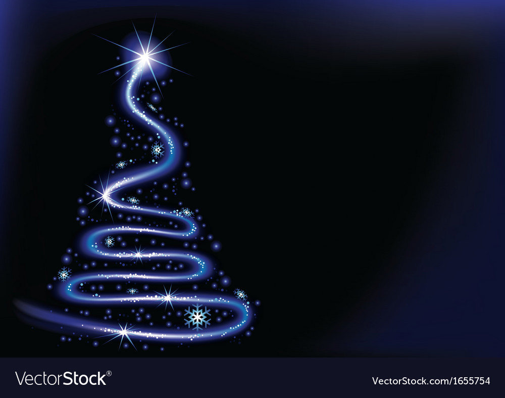Blue christmas spiral vector   Price: 1 Credit (USD $1)