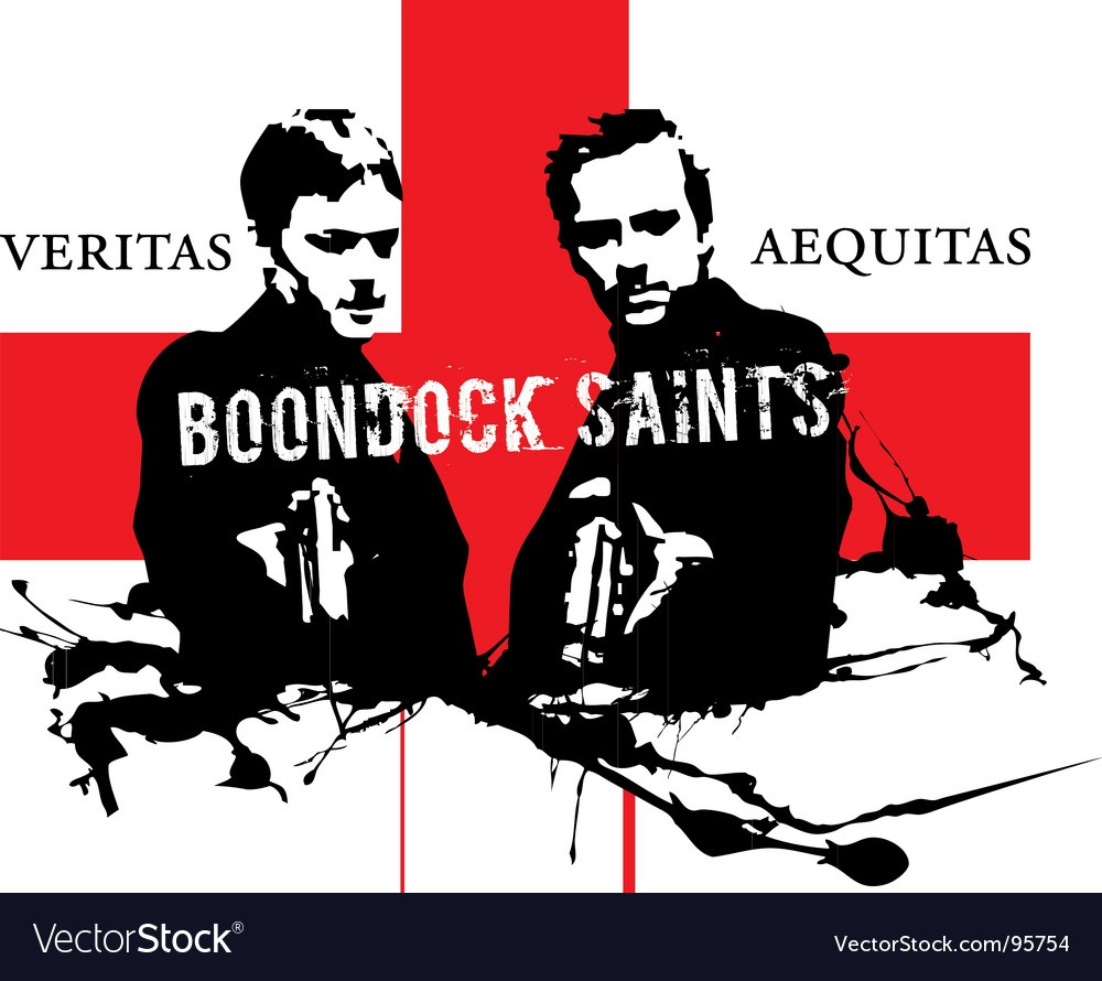 Boondock saints vector | Price: 1 Credit (USD $1)