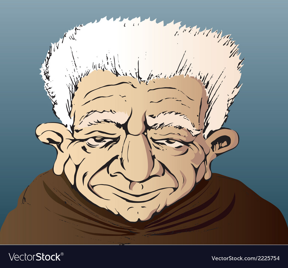 Grandfather old man people vector | Price: 1 Credit (USD $1)