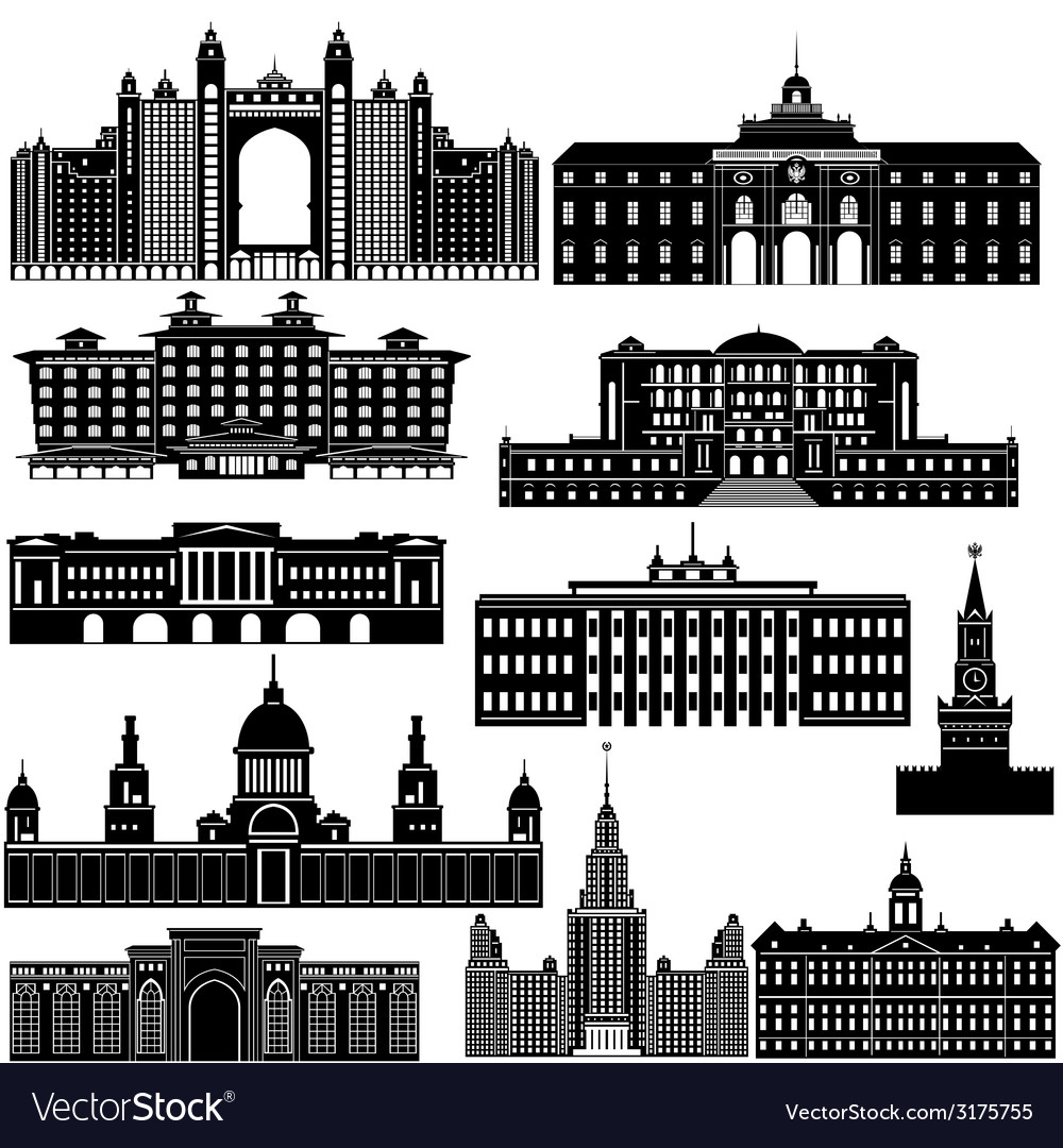 Architecture-2 vector | Price: 1 Credit (USD $1)