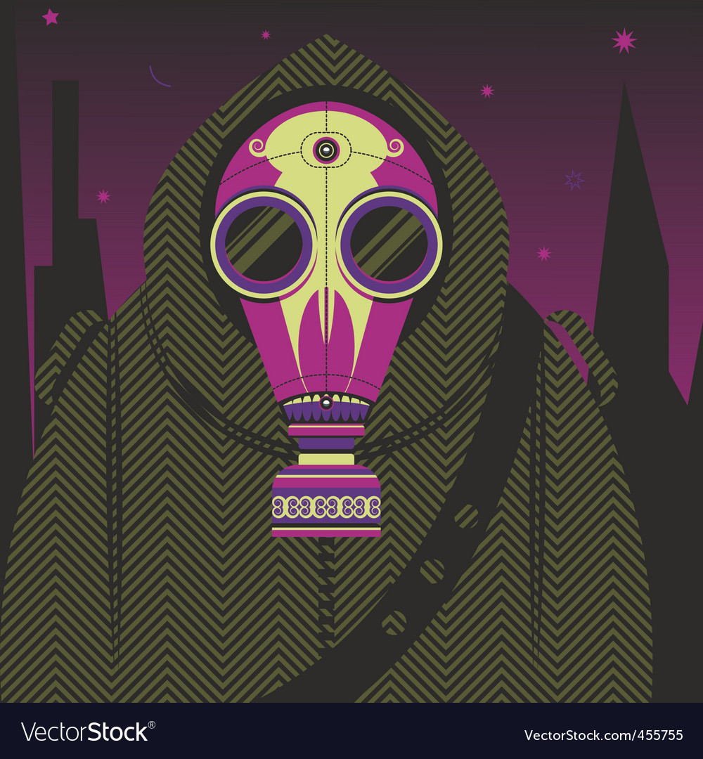 Gas-mask vector | Price: 3 Credit (USD $3)