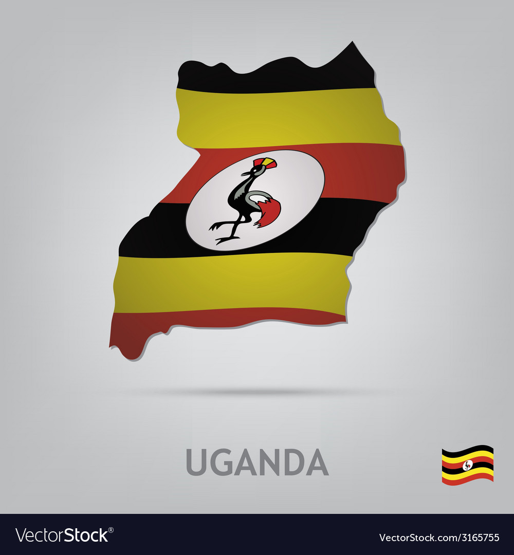 Uganda vector | Price: 1 Credit (USD $1)