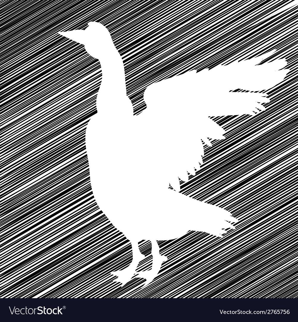Goose stencil vector   Price: 1 Credit (USD $1)