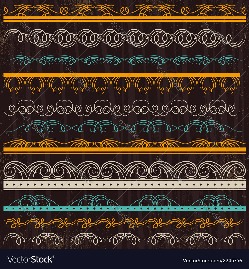 Set of lace paper border frame vector | Price: 1 Credit (USD $1)