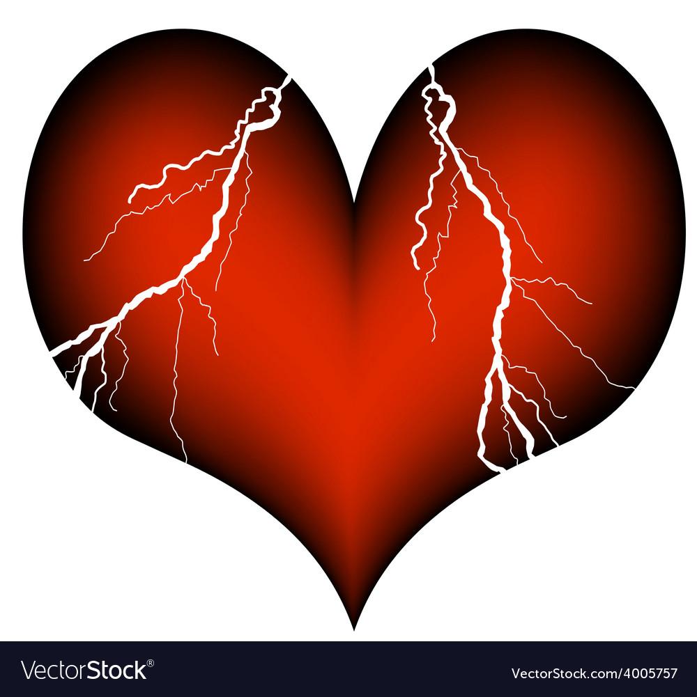 Cardiac infarction vector | Price: 1 Credit (USD $1)
