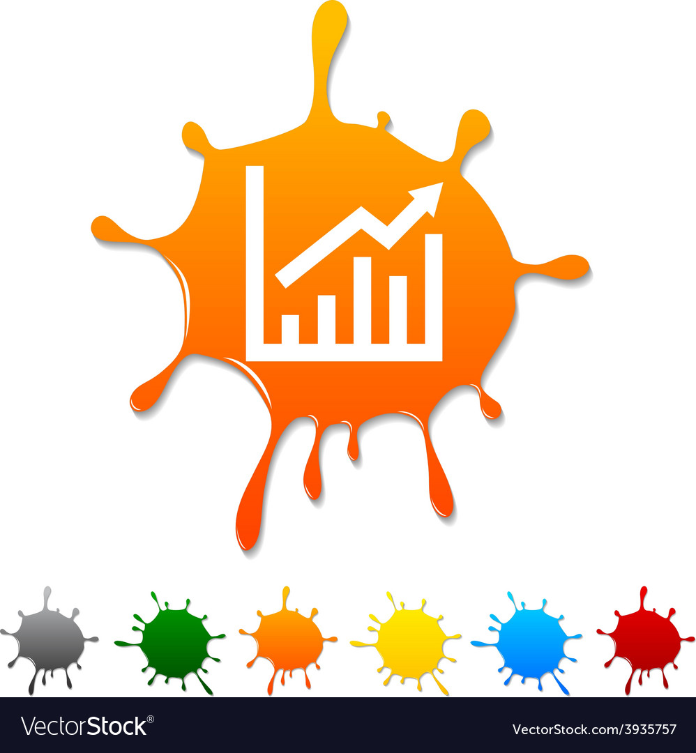 Growth blot vector | Price: 1 Credit (USD $1)