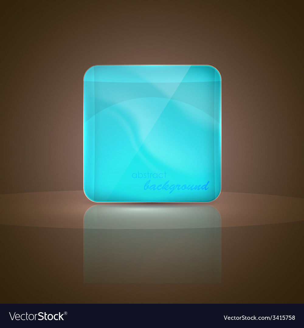 Abstract background with glass banner vector | Price: 1 Credit (USD $1)