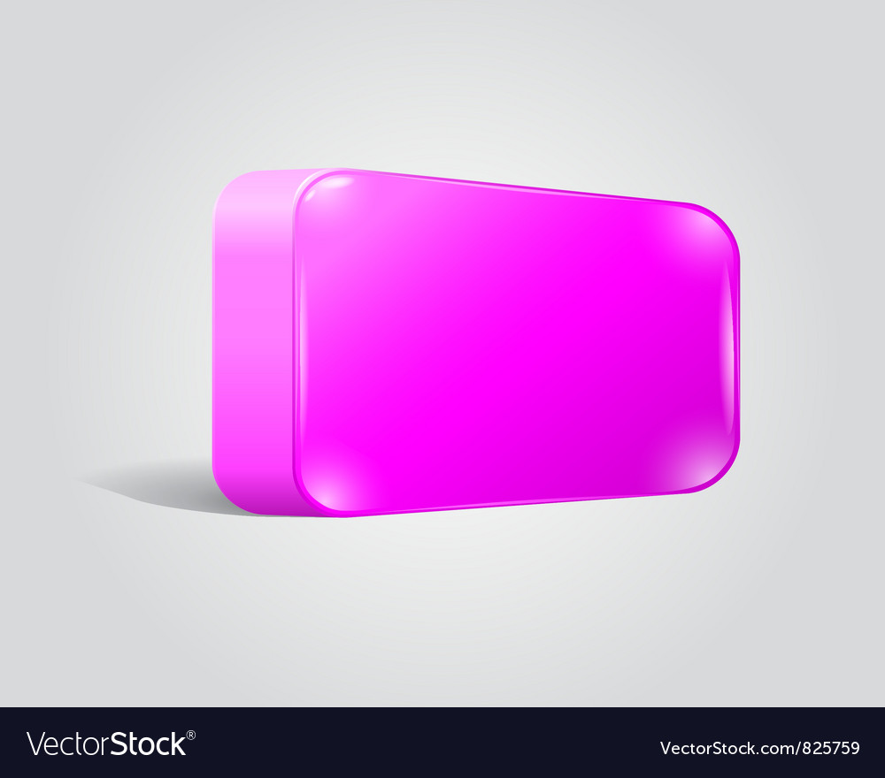 Blank shiny lilac web button vector | Price: 1 Credit (USD $1)