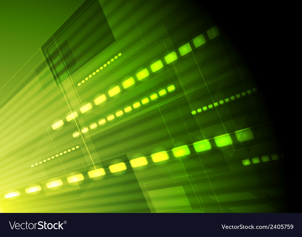 Green hi-tech motion background vector | Price: 1 Credit (USD $1)