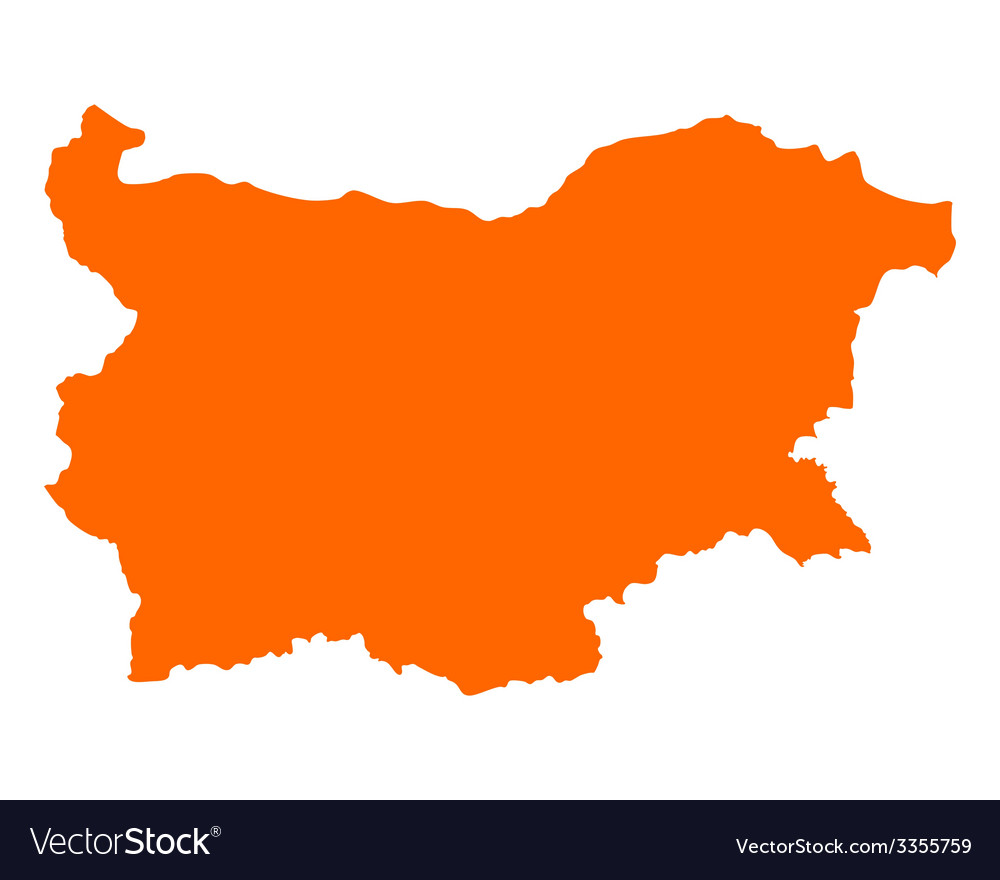 Map of bulgaria vector | Price: 1 Credit (USD $1)