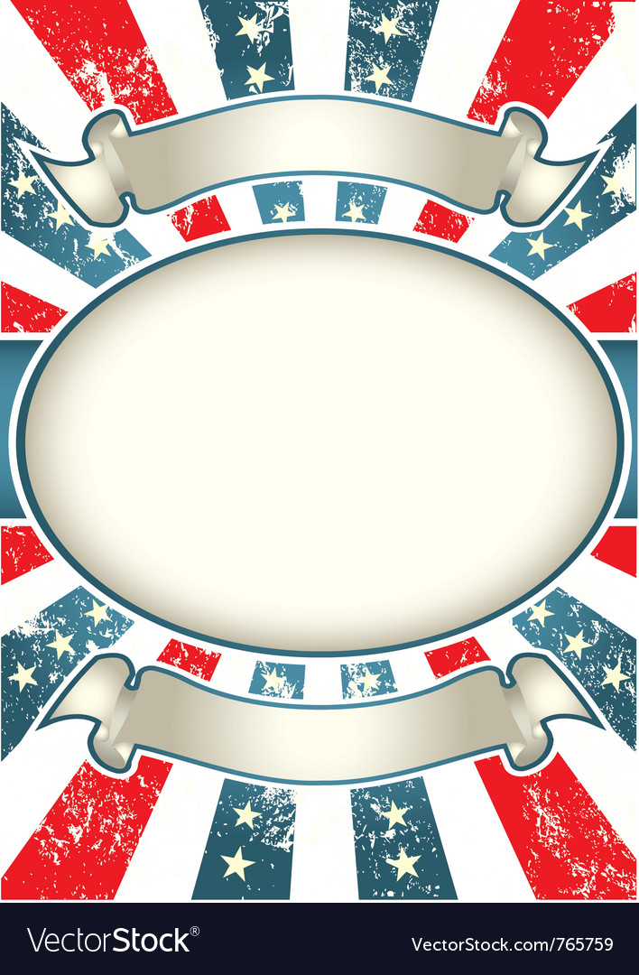 Vintage usa background vector | Price: 1 Credit (USD $1)