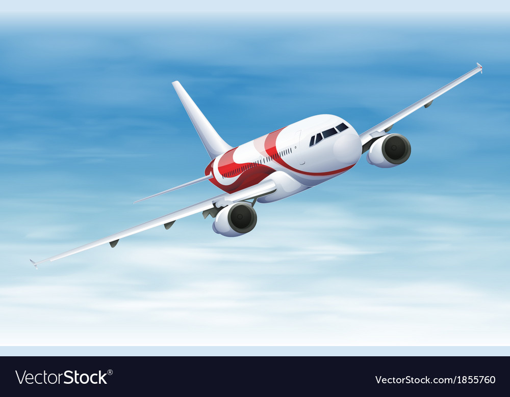 Commerical aircraft vector | Price: 3 Credit (USD $3)