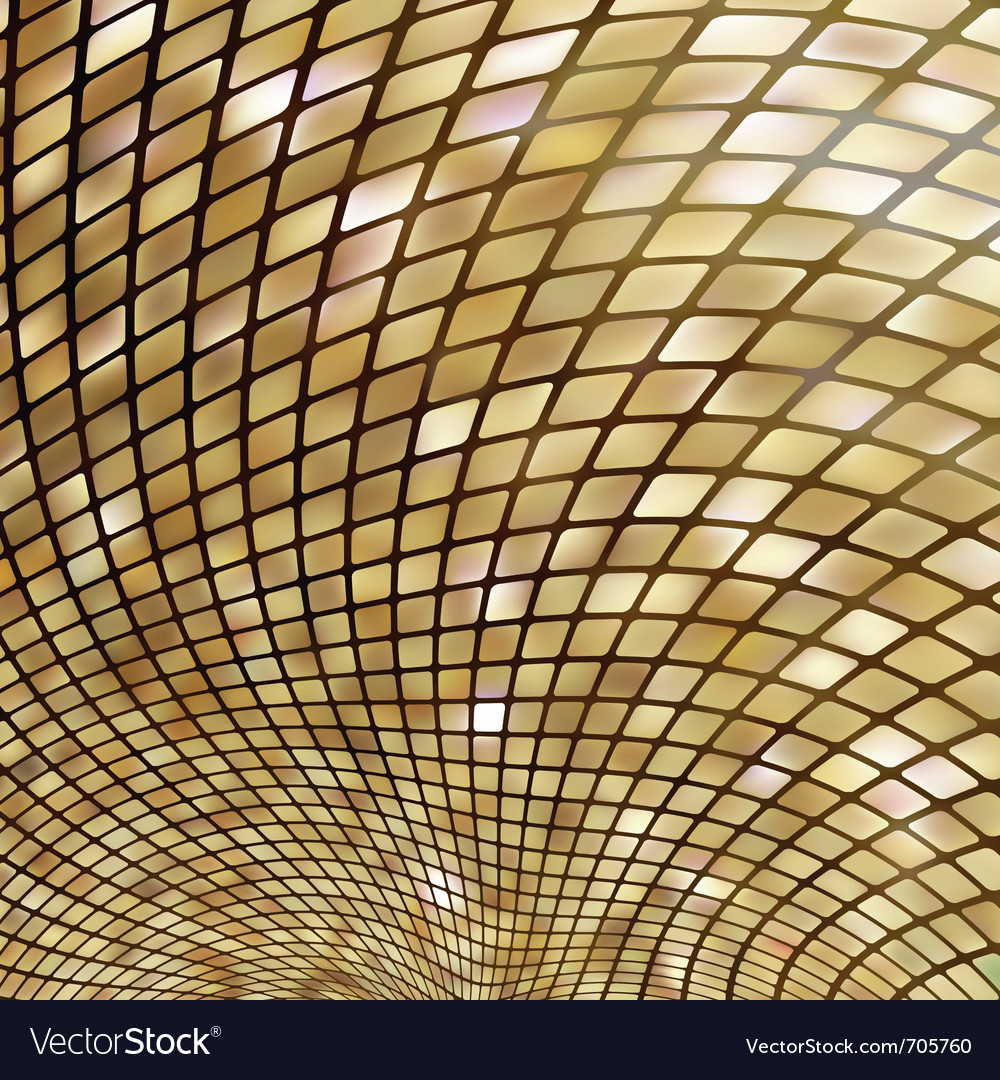 Golden business mosaic eps 8 vector | Price: 1 Credit (USD $1)